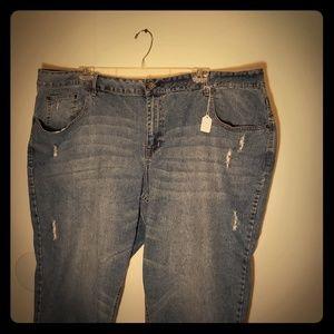 Denim - 5 pocket caprice cuff jeans